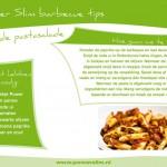 BBQ recept: Rode pastasalade
