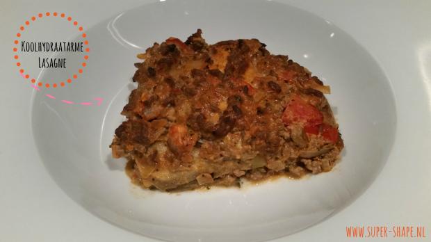 Recept voor koolhydraatarme Lasagne