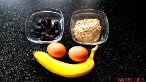 ingrediënten bananenpannenkoekjes