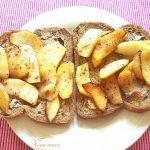 Gezond broodbeleg: Gebakken appel