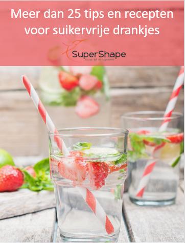 Gratis e-book recepten voor suikervrijedrankjes