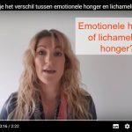 Zo herken je het verschil tussen emotionele honger en lichamelijke honger