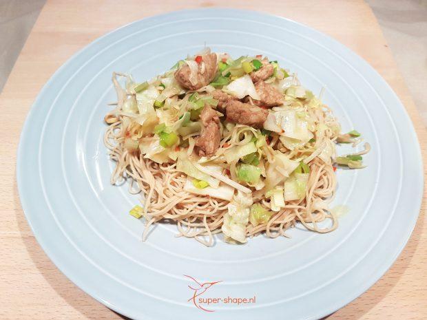 recept voor koolhydraatarme bami