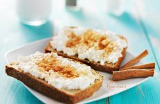 koolh recept voor warme kaneeltoast met cottage cheese