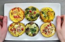 koolhydraatarm ontbijt ei muffins
