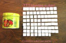 Suiker in appelstroop