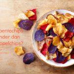 Groentechips, een goed alternatief voor aardappelchips?