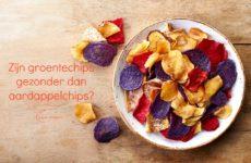 Groentechips gezonder dan aardappelchips