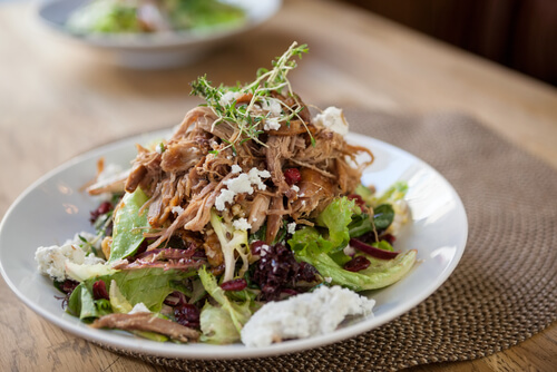pulled chicken slowcooker recept