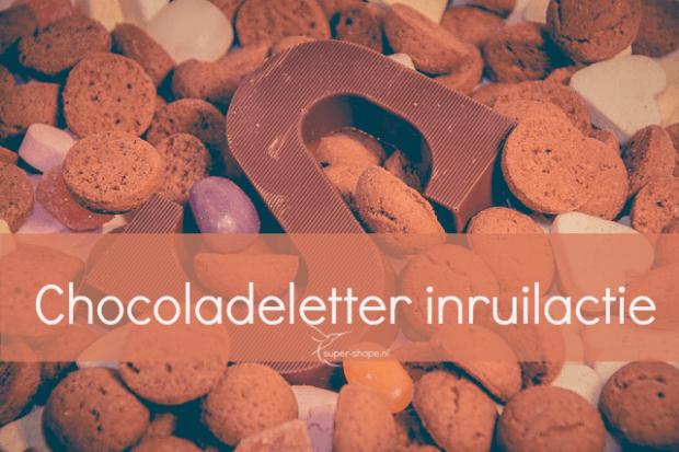 Chocoladeletter inruilactie