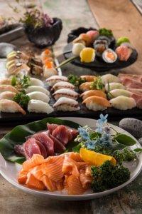 Koolhydraatarm sushi eten