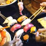 Koolhydraatarm sushi eten in een restaurant, kan dat?